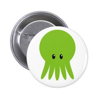 Cute Cthulhu Button