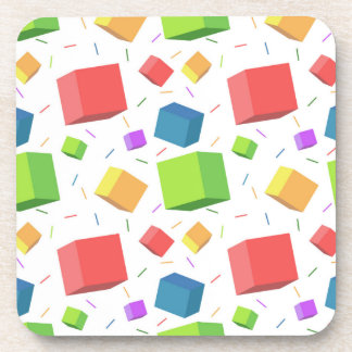 Cute Cubes Drink Coaster