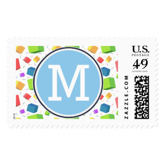 Cute Cubes Postage