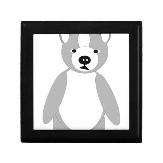 Cute cuddly and Lovable Boston Terrier Gift Box
