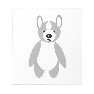 Cute cuddly and Lovable Boston Terrier Note Pad