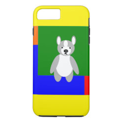 Case-Mate Tough iPhone 7 Plus Case with Boston Terrier Phone Cases design