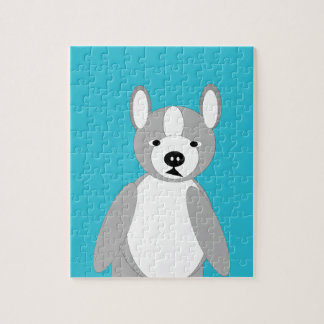 Cute cuddly and Lovable Boston Terriers Jigsaw Puzzle