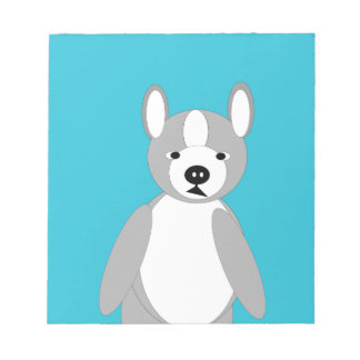 Cute cuddly and Lovable Boston Terriers Notepad