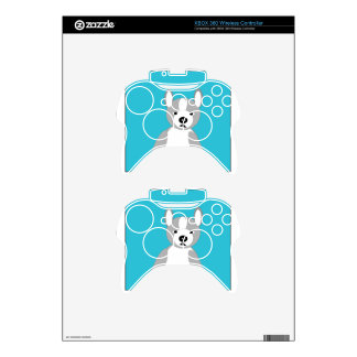 Cute cuddly and Lovable Boston Terriers Xbox 360 Controller Decal
