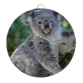 Cute cuddly Australian koala Dartboard With Darts