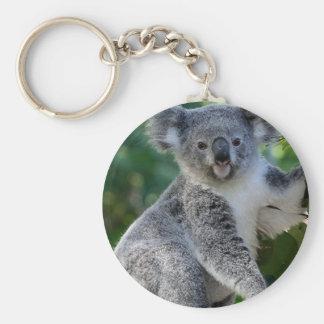Cute cuddly Australian koala Keychain