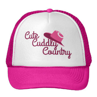 Cute Cuddly Country Trucker Hat