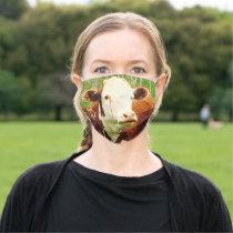 Cute Cuddly Cow 4Cara Cloth Face Mask