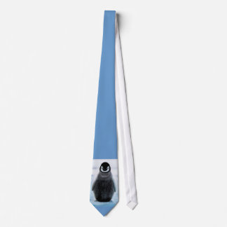 Cute Cuddly Penguin-Lover Art Necktie