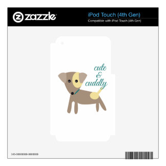 Cute & Cuddly Decal For iPod Touch 4G