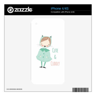 Cute & Cuddly Skin For The iPhone 4S