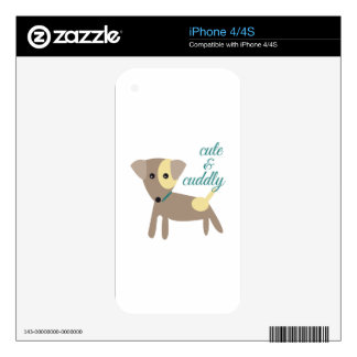 Cute & Cuddly Decals For The iPhone 4S