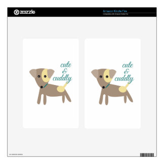 Cute & Cuddly Skins For Kindle Fire