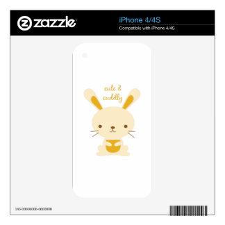 Cute & Cuddly iPhone 4 Decal