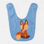 Cute Cunning Cartoon Fox Baby Bib