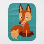 Cute Cunning Cartoon Fox Burp Cloth