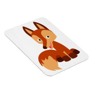 Cute Cunning Cartoon Fox Flexible Magnet