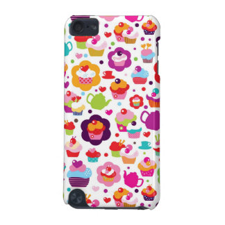 Cute cup cake and tea pot iPod touch (5th generation) cover