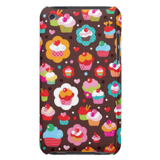 Cute Cup Cake Pattern Barely There iPod Case