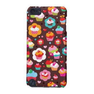 Cute Cup Cake Pattern iPod Touch (5th Generation) Cover