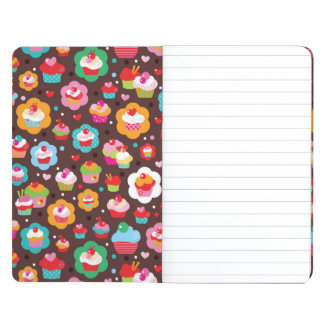 Cute Cup Cake Pattern Journal