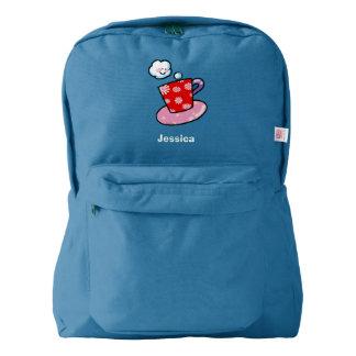 cute cup of coffee backpack