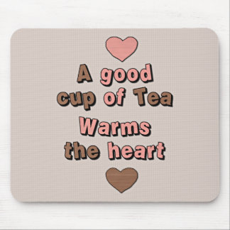 Cute Cup of Tea Mouse Pad