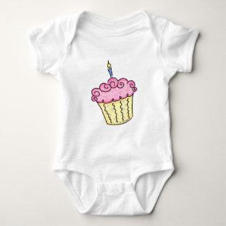Cute Cupcake Baby Bodysuit