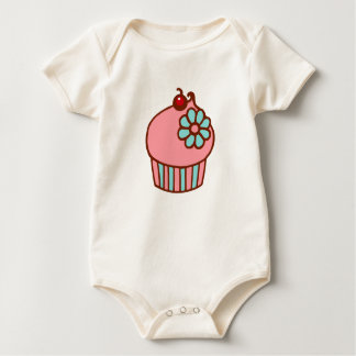 Cute Cupcake Baby Outfit Gift Baby Bodysuit