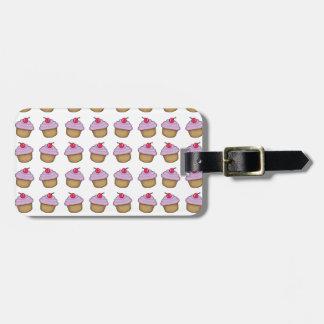 Cute Cupcake Bag Tag