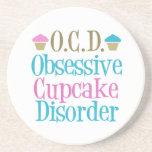 Cute Cupcake Beverage Coasters