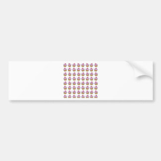 Cute Cupcake Bumper Sticker