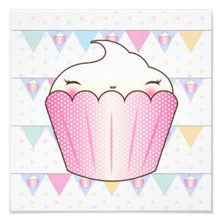 Cute Cupcake Bunting Pattern Photo