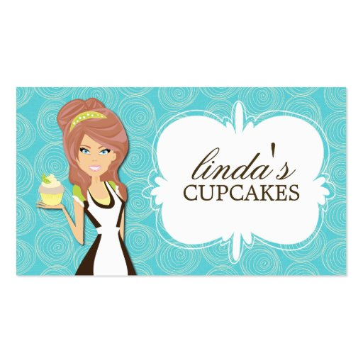 Cute Cupcake Business Cards