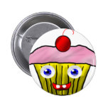 Cute Cupcake Button