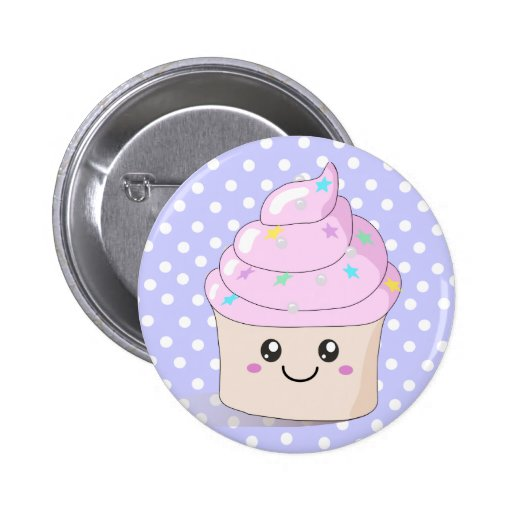Cute Cupcake Buttons