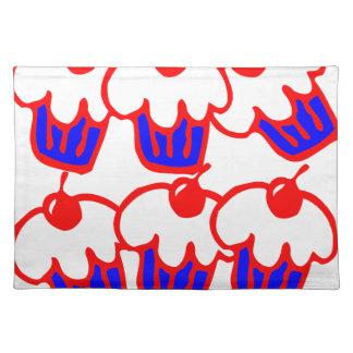 cute cupcake cloth placemat