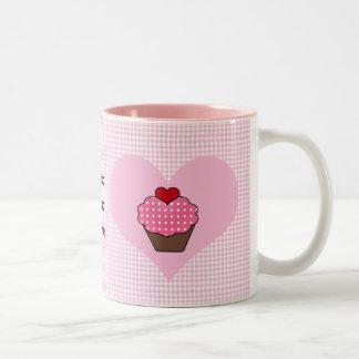 cute cupcake custom personalized mugs