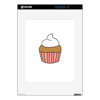 CUTE CUPCAKE DECAL FOR iPad