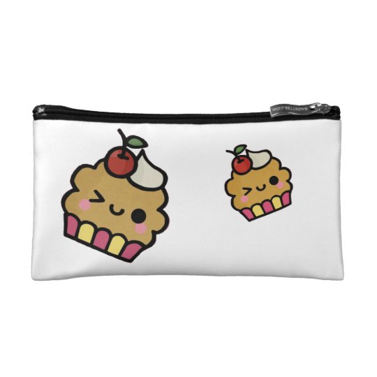 Cute Cupcake Handbag Makeup Bag
