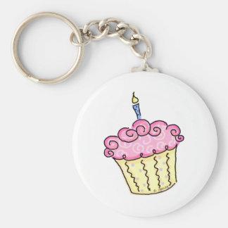 Cute Cupcake Key Chains