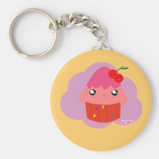 Cute Cupcake Keychain