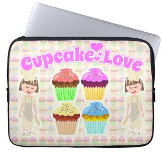 Cute Cupcake Lover Laptop Sleeve