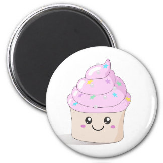 Cute Cupcake Refrigerator Magnet