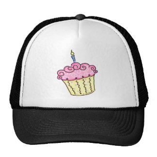Cute Cupcake Mesh Hat