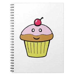 cute cupcake notebook