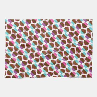 Cute Cupcake Pattern Towels