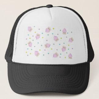 Cute cupcake pattern trucker hat