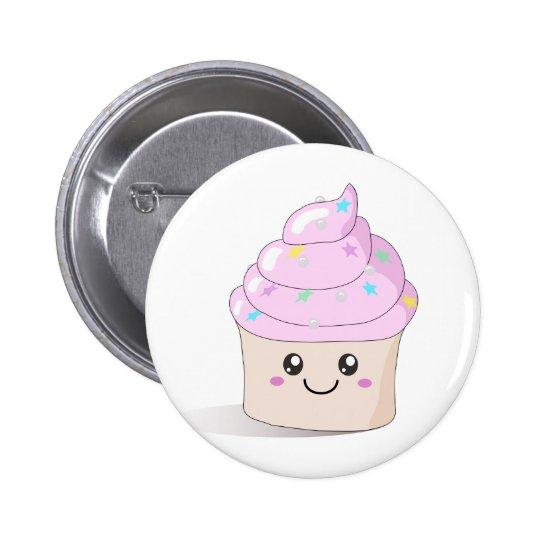 Cute Cupcake Pinback Button